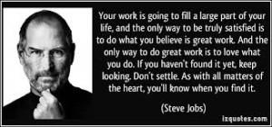 Steve Jobs cytat 3